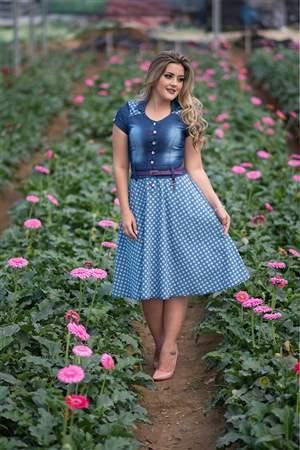 Vestido Jeans & Póa - REF 13945