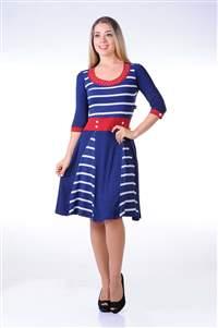 Vestido Nautico - REF C760