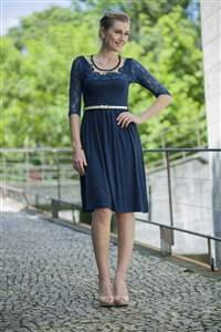 Vestido Malha Franzidinho - REF C780