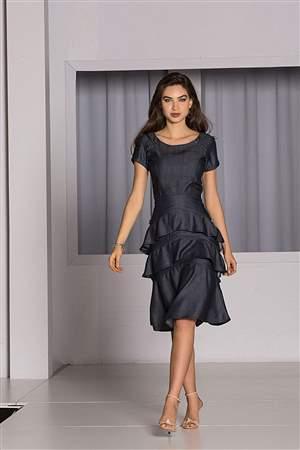 Vestido Liocel Babados - REF 13070