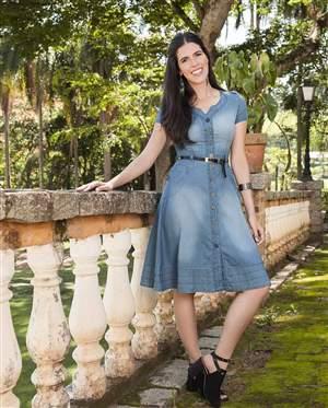 Vestido Jeans Rodado - REF 13805